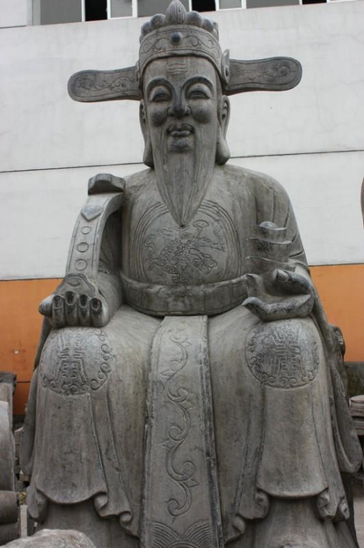 3.1m青石財神像